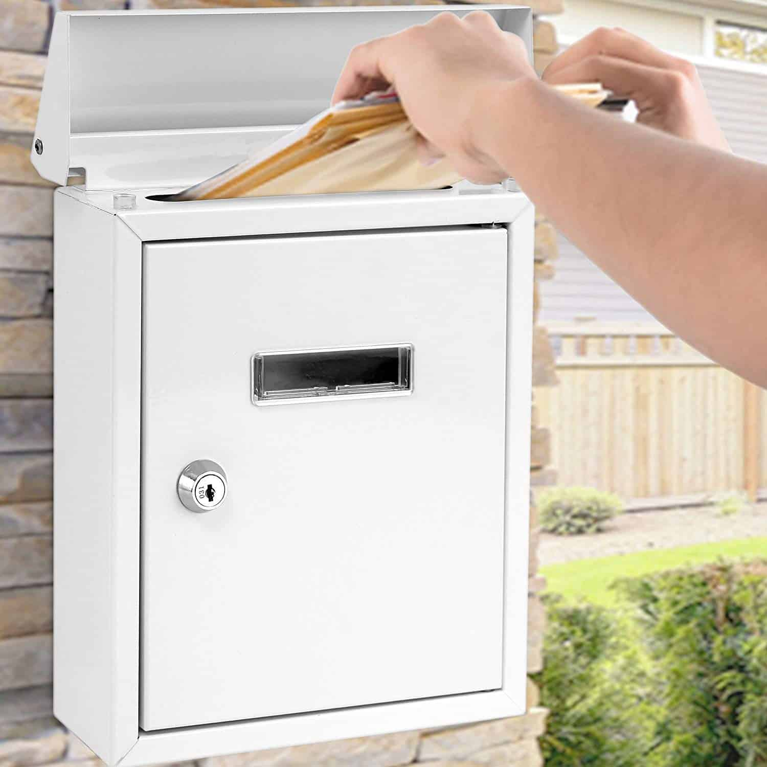 Wall Mount Lockable Mailbox