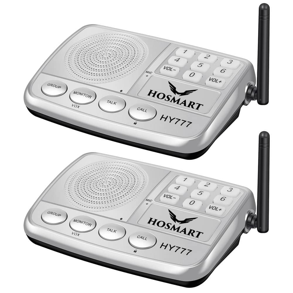 Wireless Intercom System Hosmart