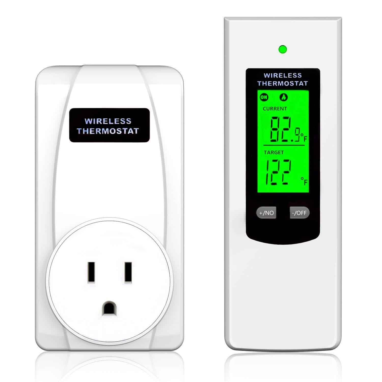Wireless Programmable Thermostat Plug