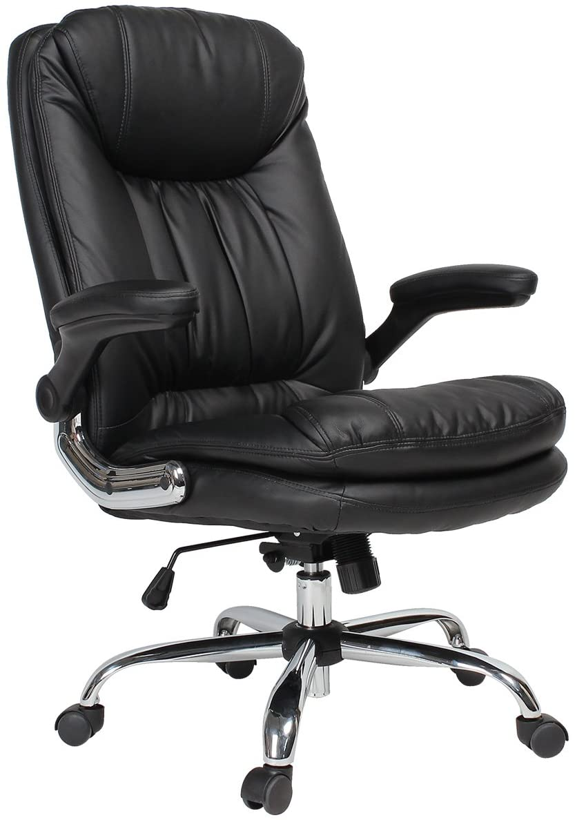 Yamasoro Executive Office Chair with Flip-up Arms