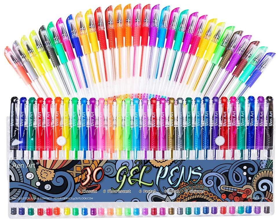 Aen Art Gel Pens Marker Set