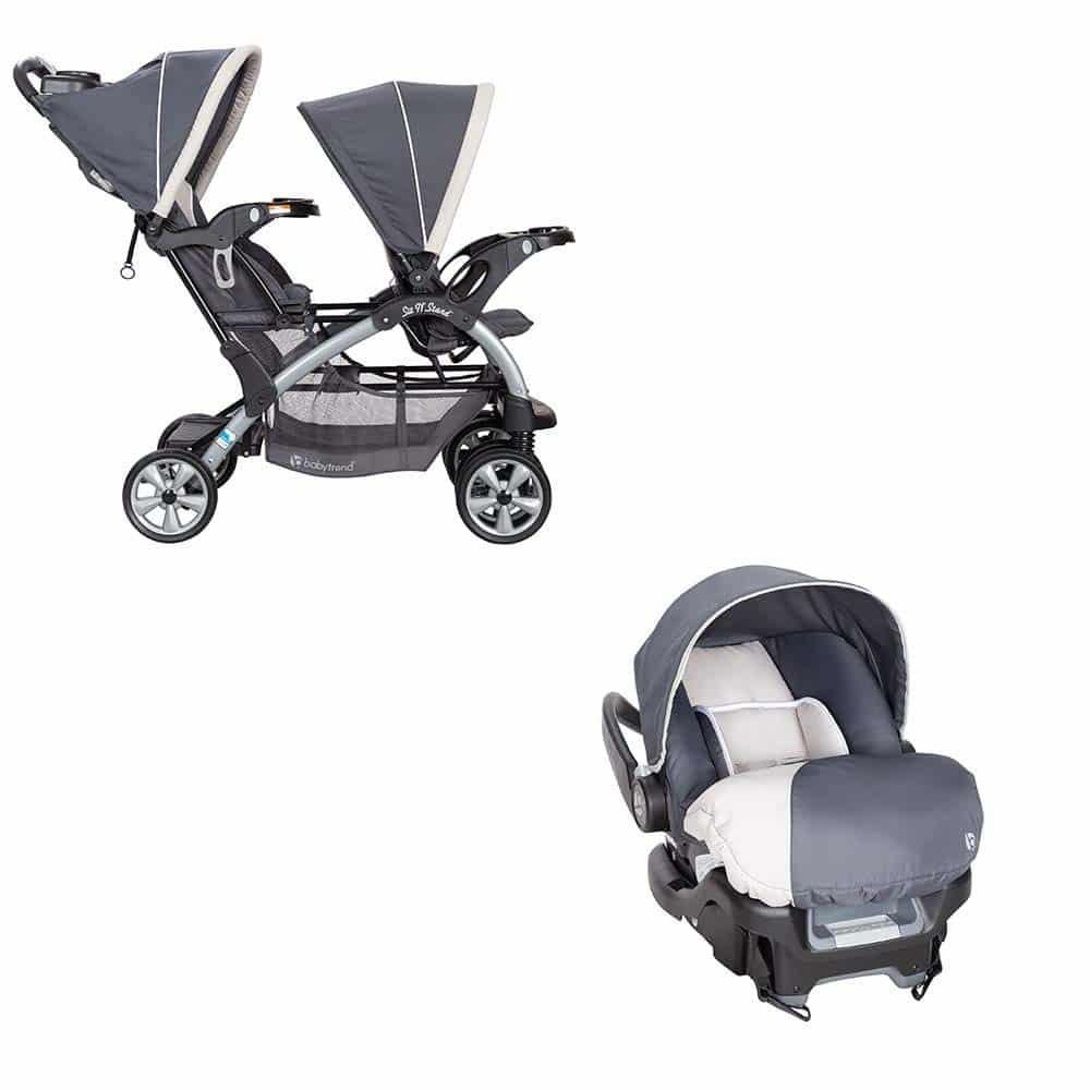 Baby Trend Sit N Stand Stroller, Magnolia