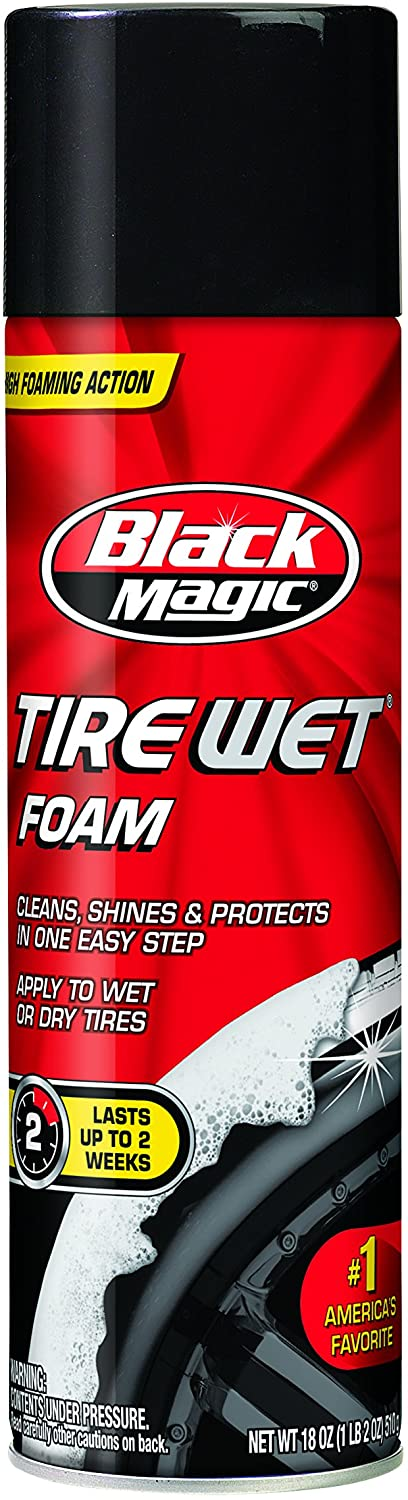 Black Magic Wet Tire Foam