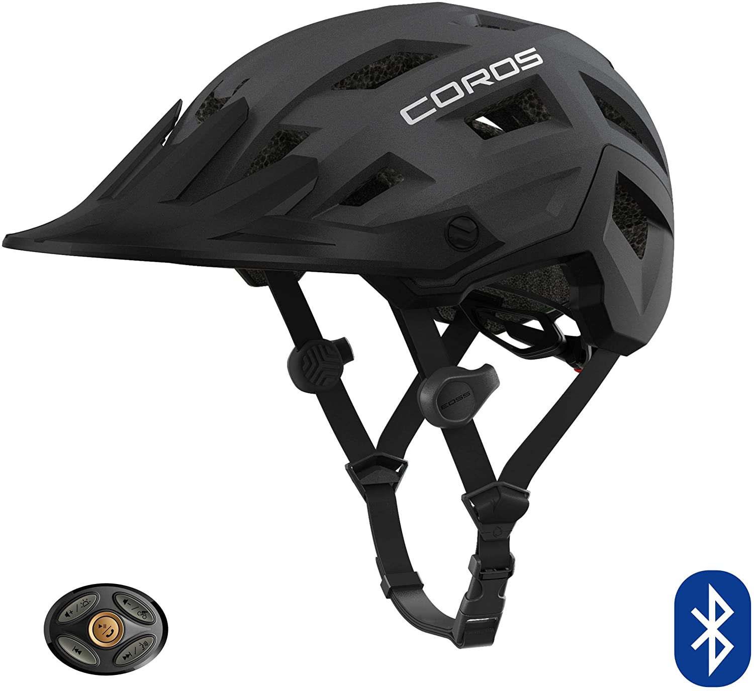 Coros SafeSound - Mountain Smart Cycling Helmet with Ear Opening