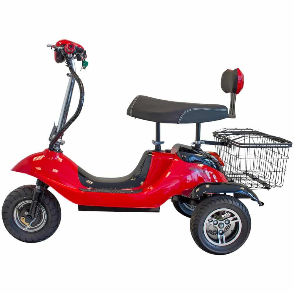 E-Wheels EW 19 Sporty Three-Wheel Scooter