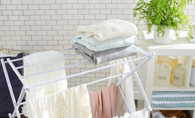 Folding Clothes Drying Racks