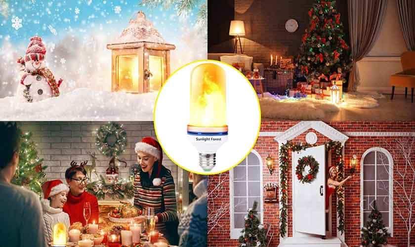 LED Flame Bulbs