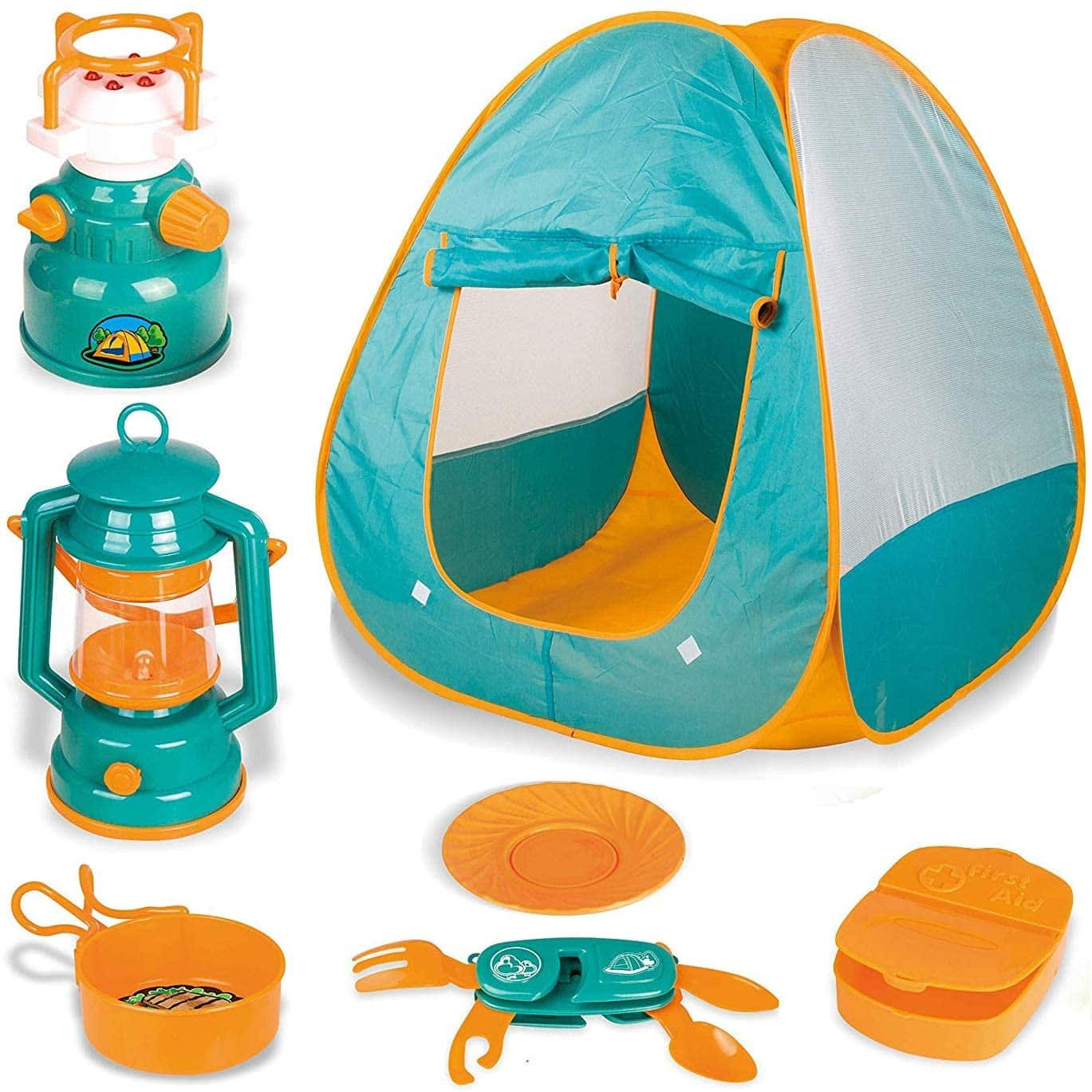 Little Explorers Kids pop up play Tent