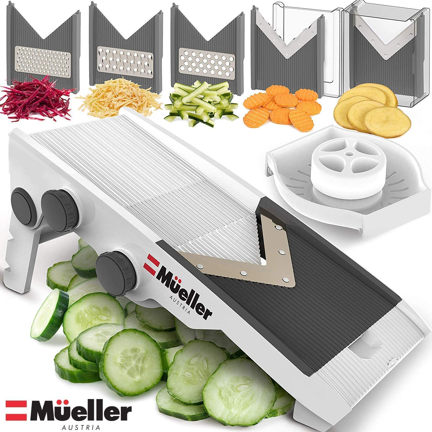 Mueller Austria Slicer, Cutter, and Shredder