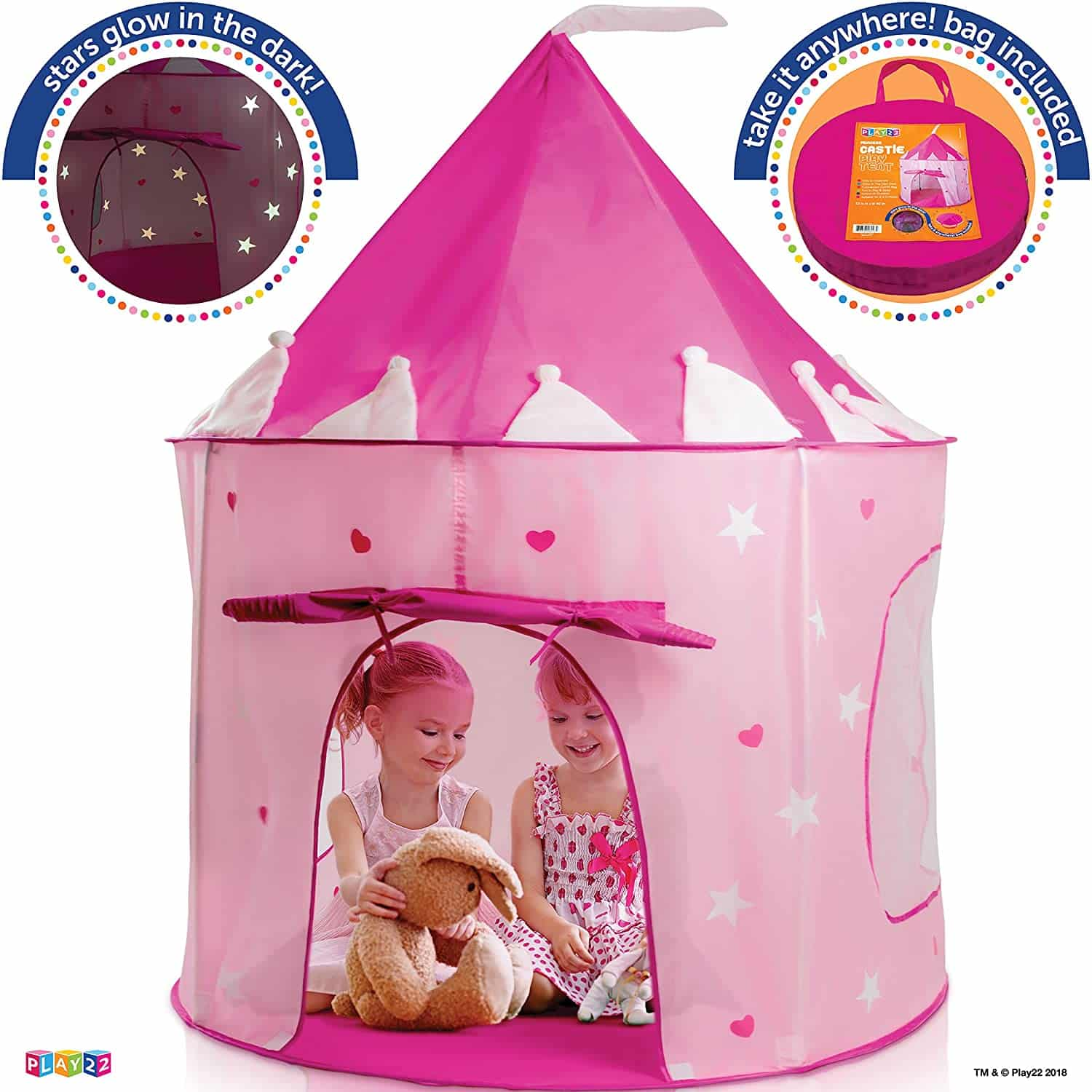 Play22 Princess Castle Pink Play Tent