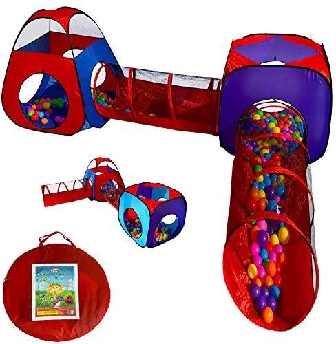 Playz 4pc Pop UP Children Play Tent