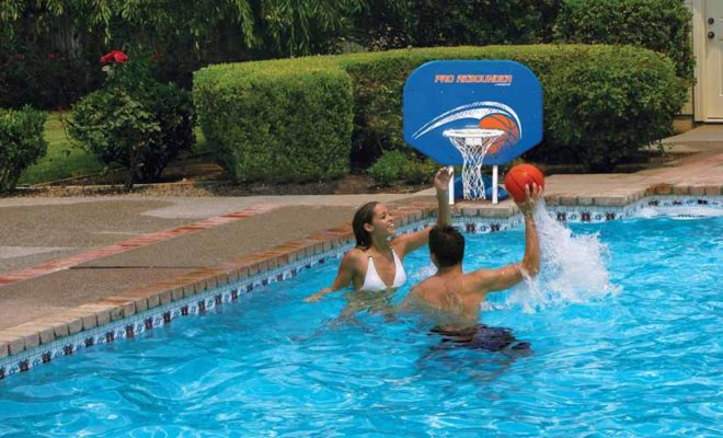 Pool Basketball Hoops
