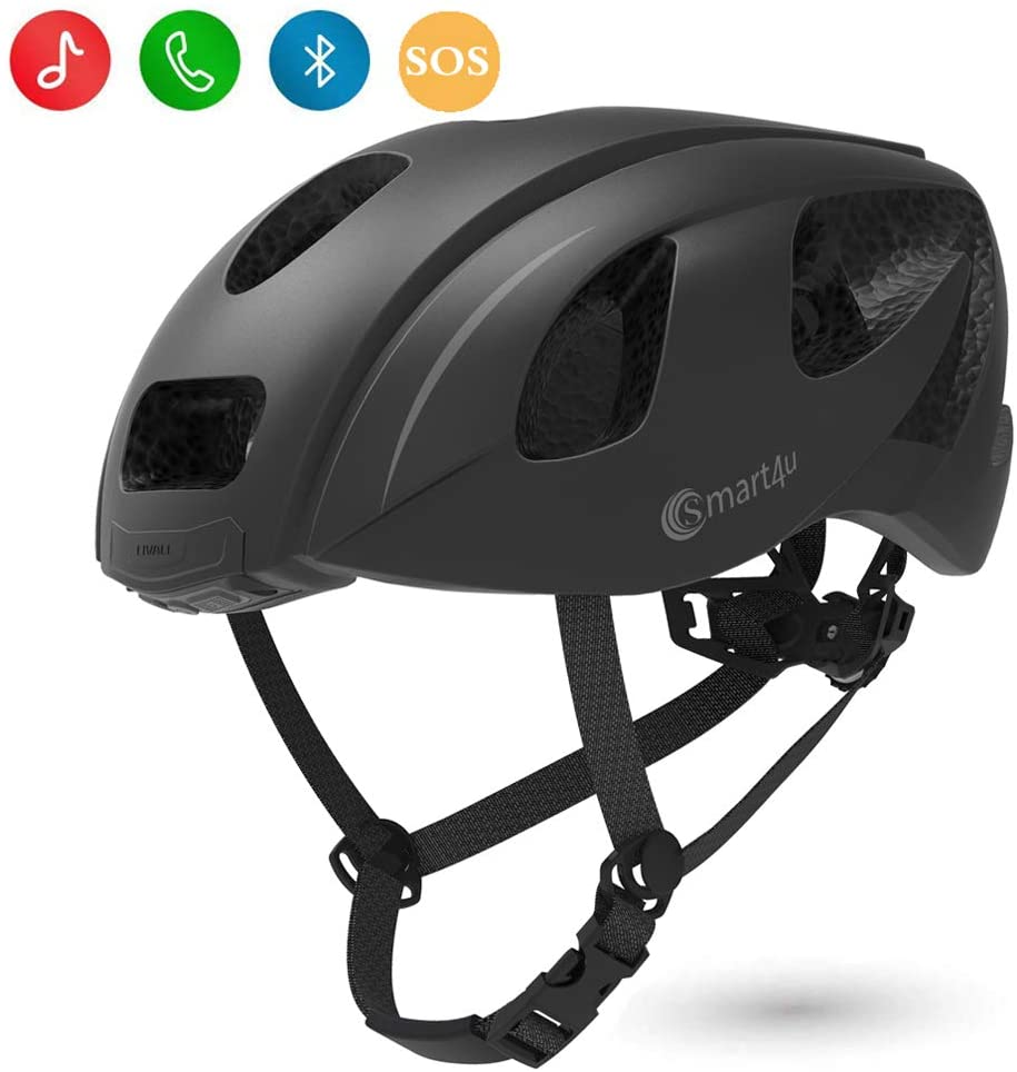 Smart4u SH55M Smart Helmet with LED taillight and Turn Indicators