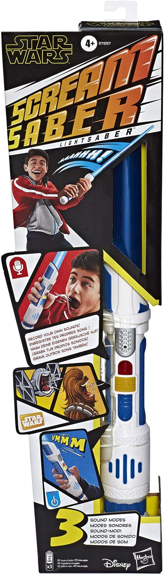 Star Wars Scream Saber Lightsaber Toy