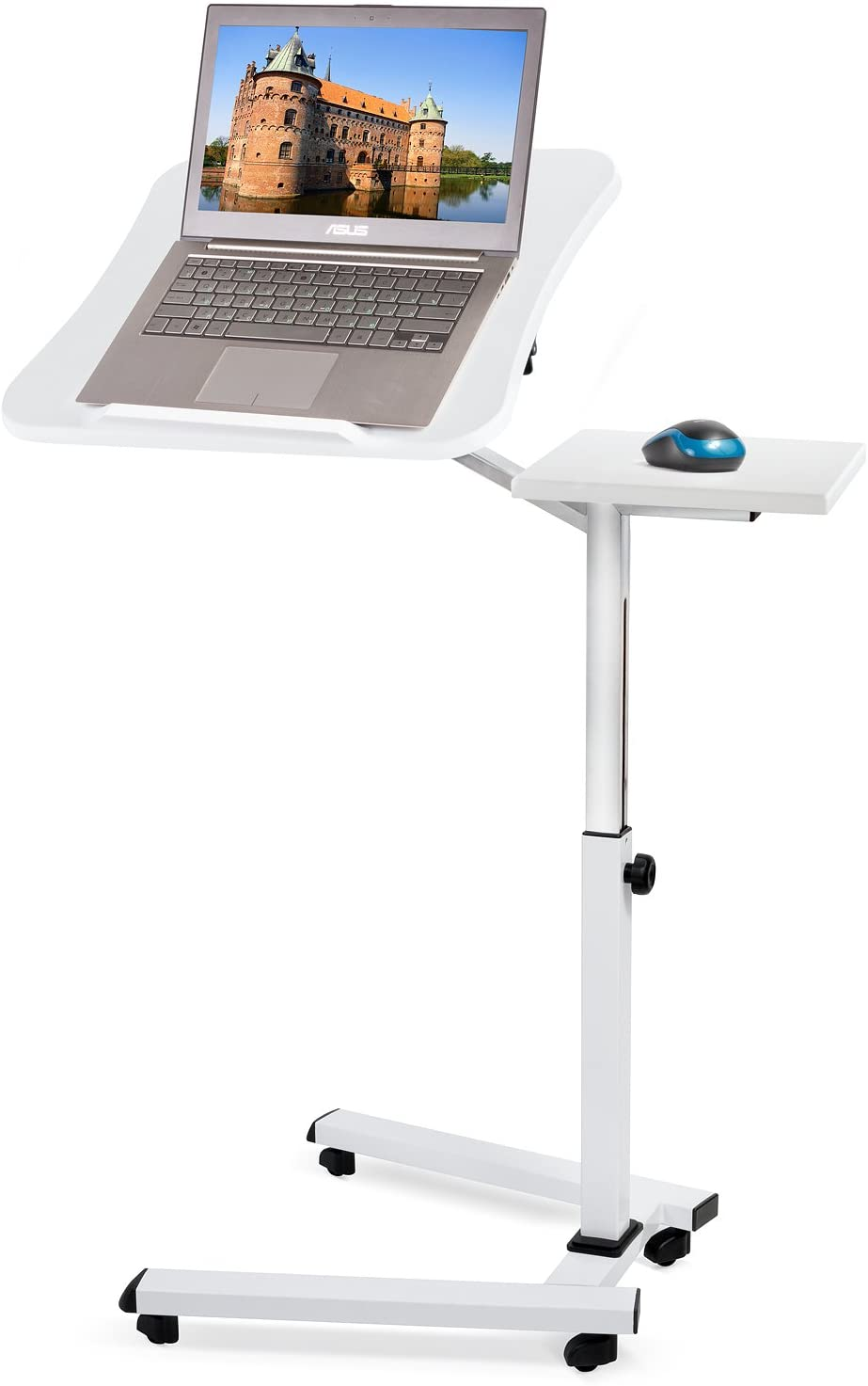 Tatkraft Like Portable Laptop Desk with Mouse Pad