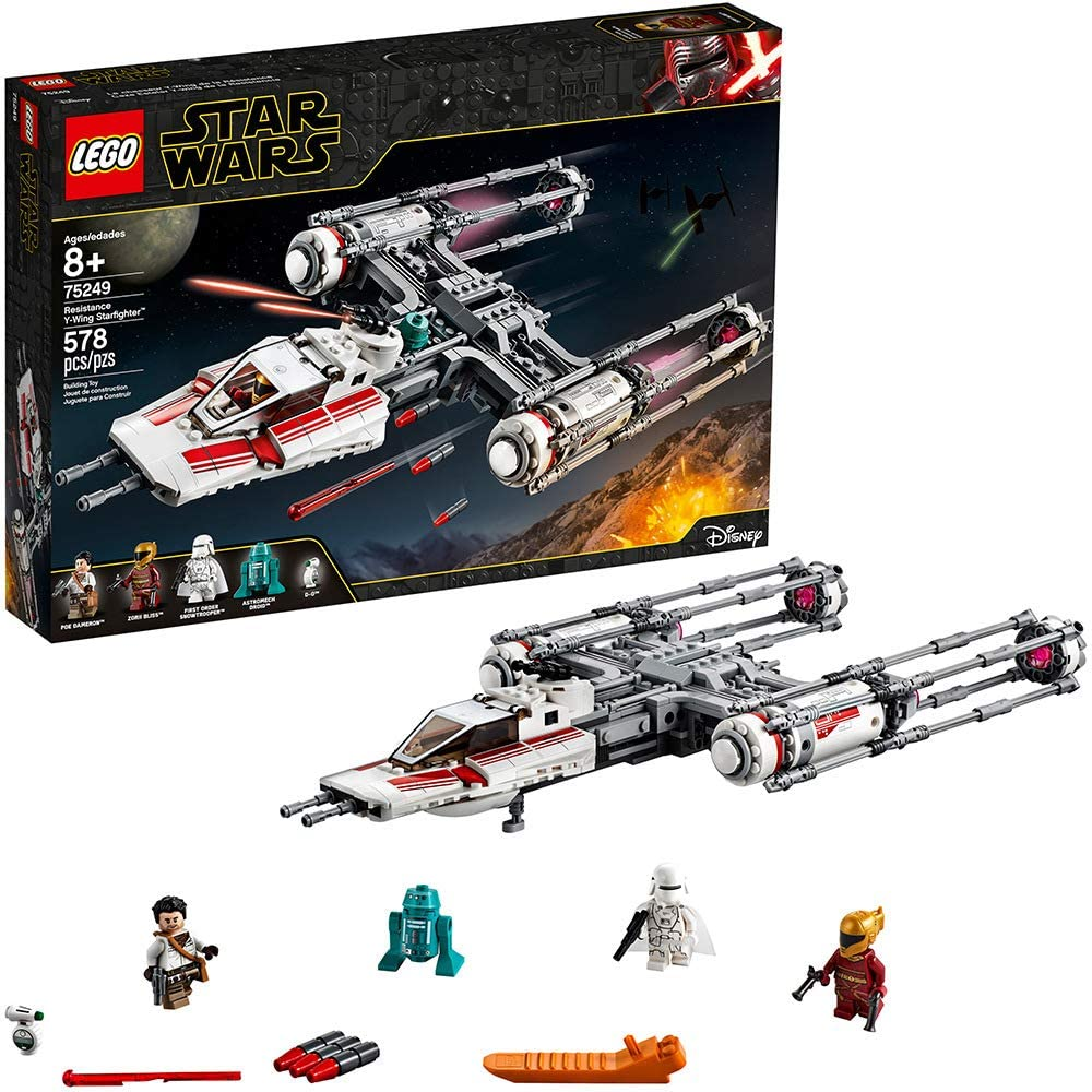 The Rise of Skywalker Resistance Y-Wing Starfighter