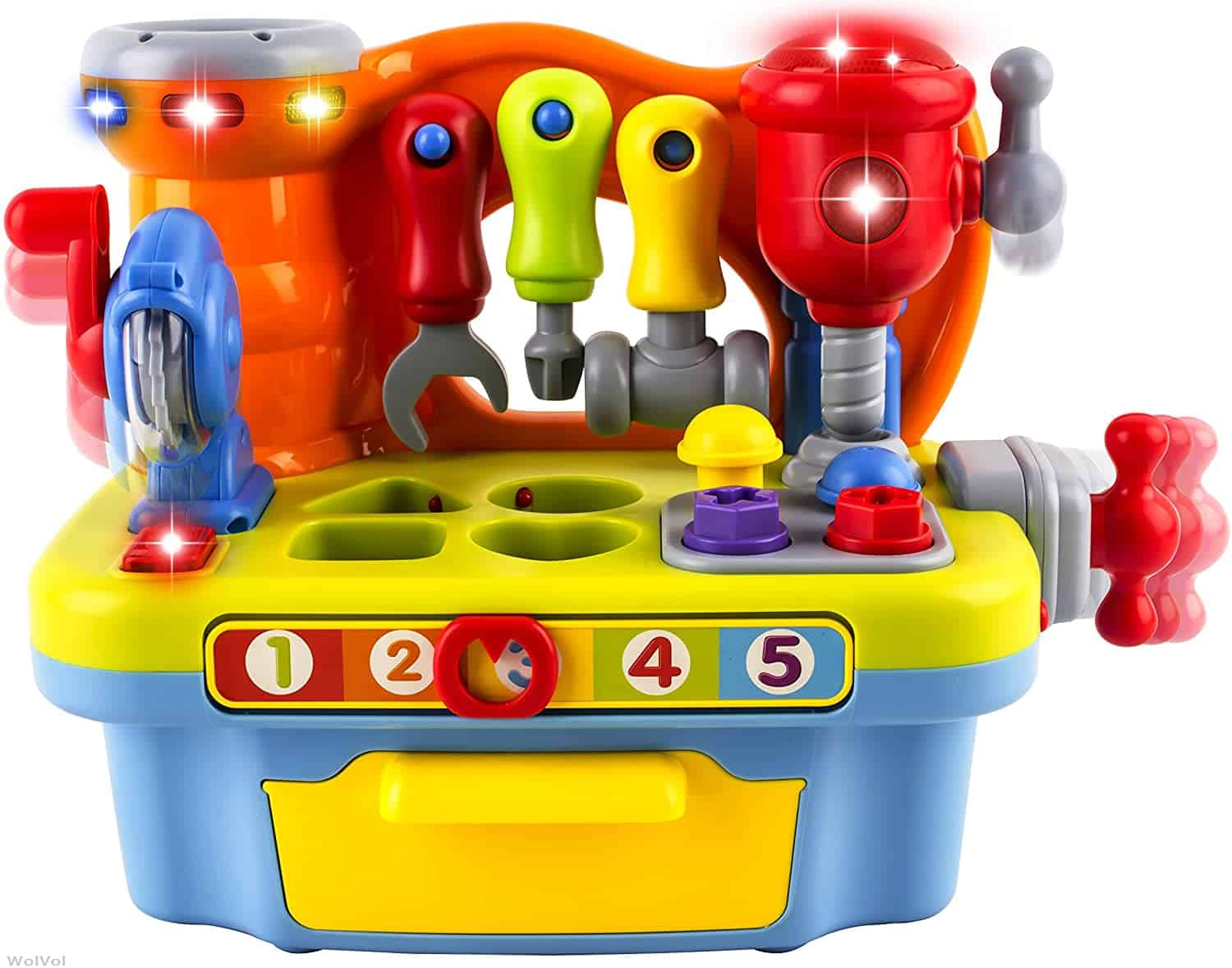 WolVol Musical Learning Workbench Toy
