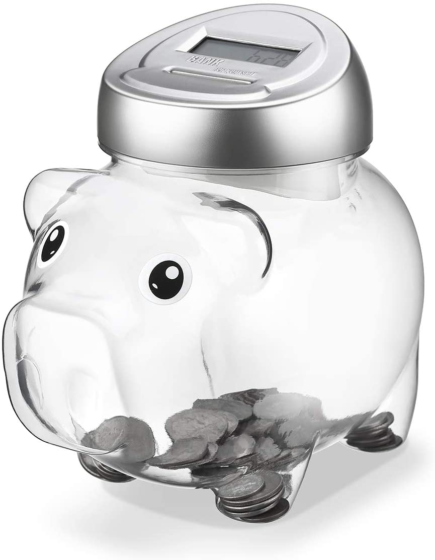 Younion Digital Piggy Coin Bank