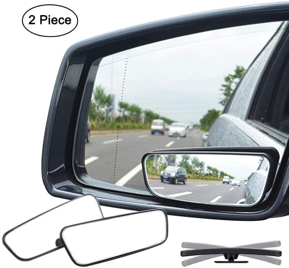 Ampper 360 Degree Rectangle Blind Spot Mirror