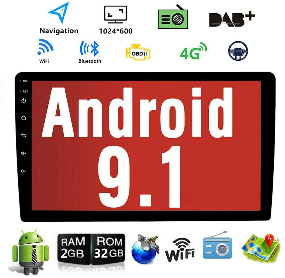 Binize Android 9.1 10.1 Car Stereo