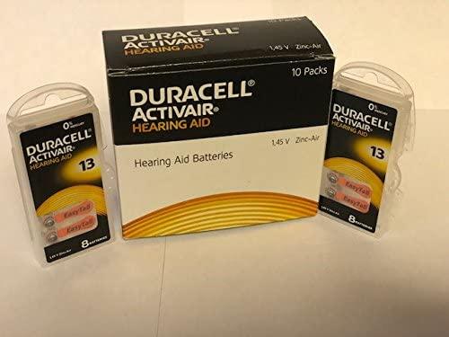 Duracell Activair Hearing Aid Batteries