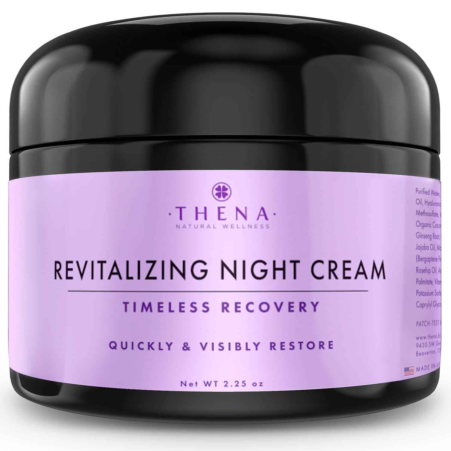 Night Cream Anti-Aging Wrinkle Cream with Vitamin A (Retinol) E & C Hyaluronic Acid