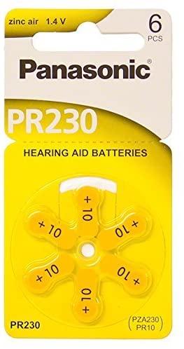 Panasonic Hearing Aid Batteries