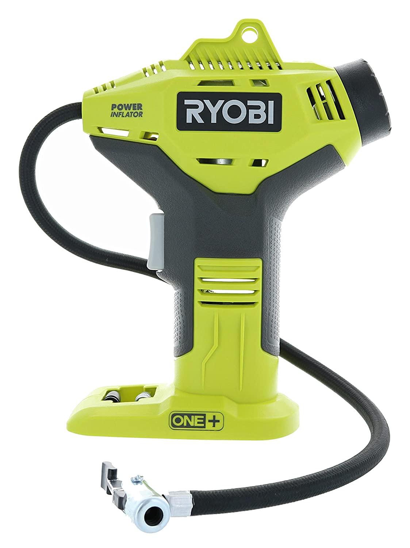 Ryobi Portable Cordless Power Inflator for Tires