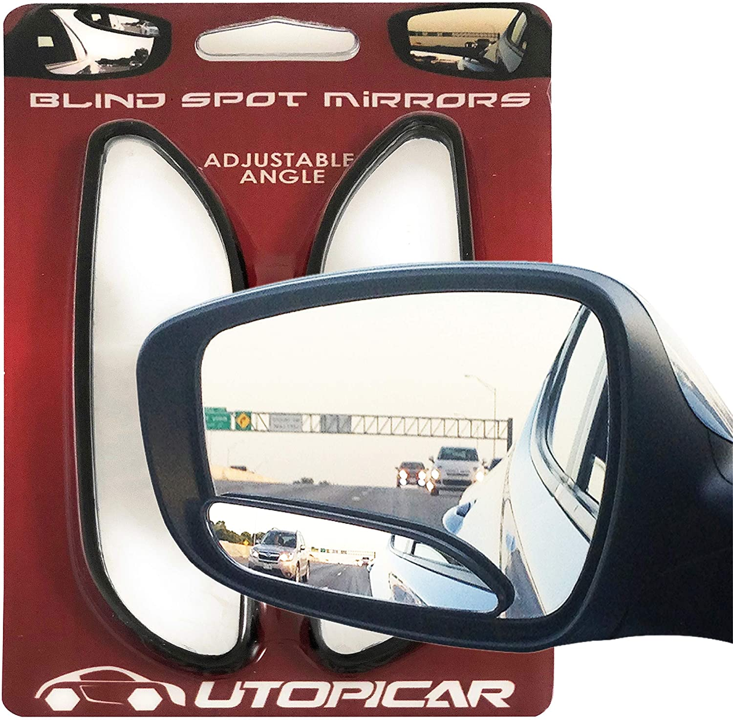 Utopical Stick-on Blind Spot Mirrors