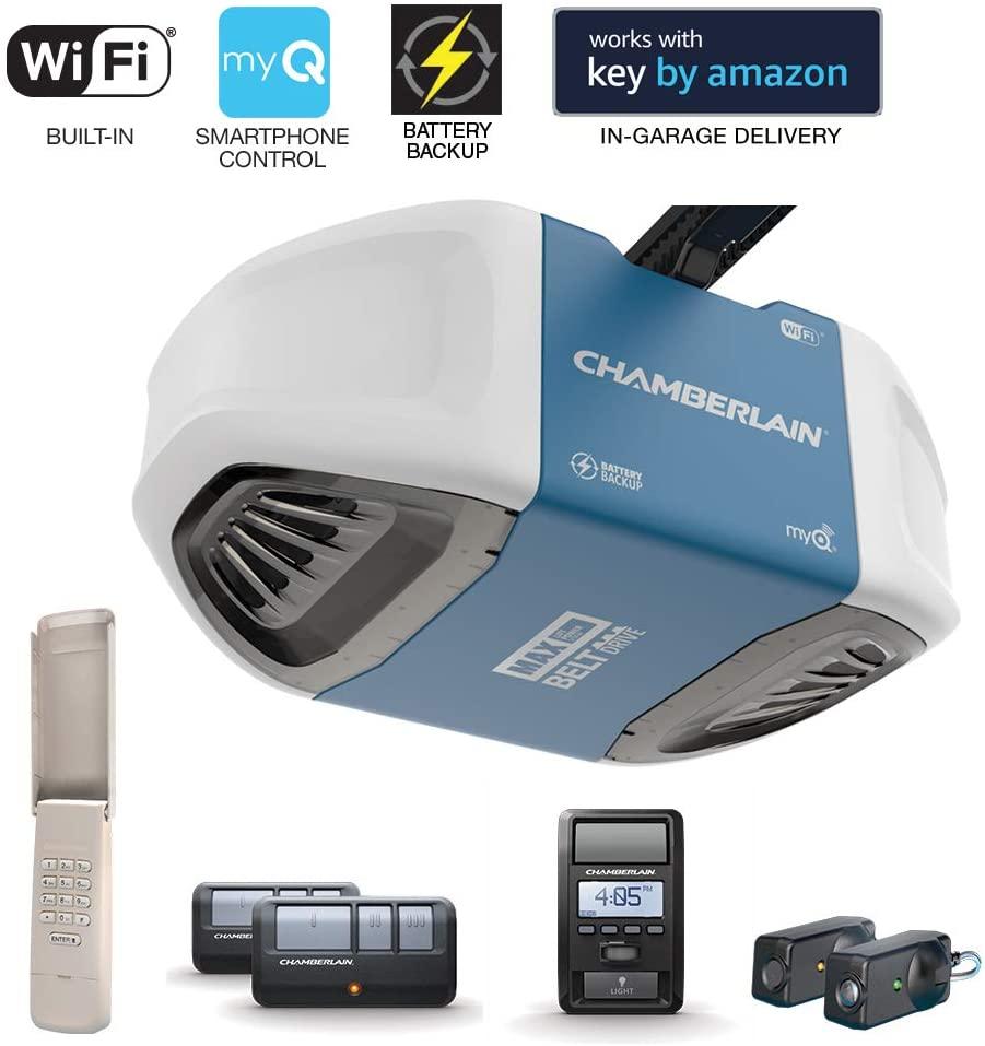 Chamberlain Group B970 Smartphone-Controlled Garage Door Opener