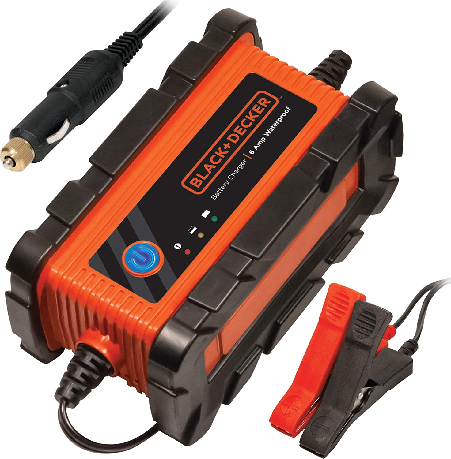 lack+Decker BC6BDW 6 Amp Battery Charger
