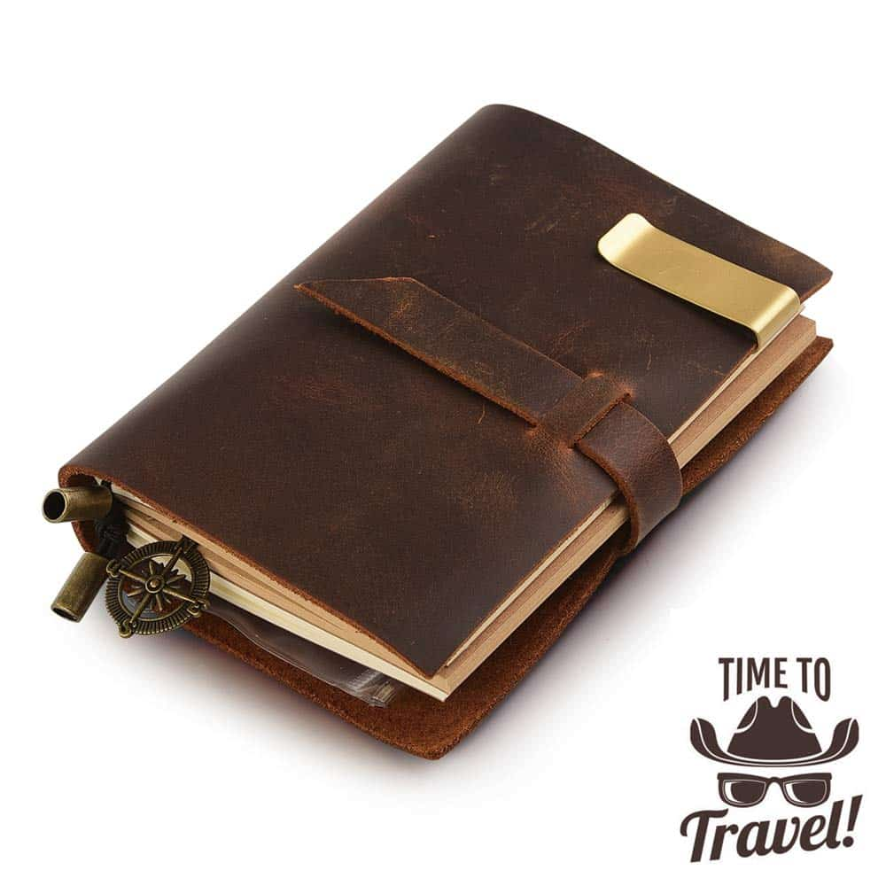 7felicity Classic Genuine Leather Notebook