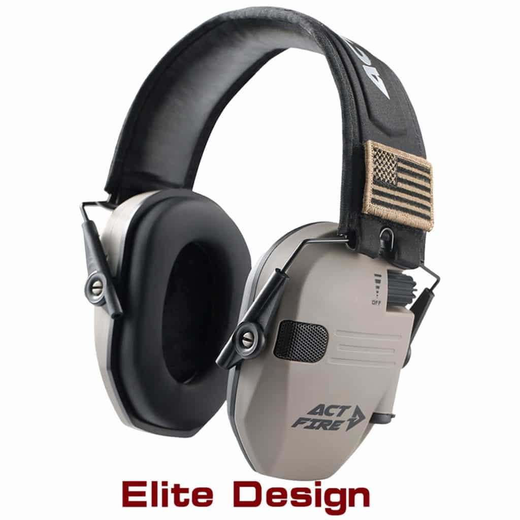 ACTFIRE Shooting Ear Protection Electronic Ear Protection