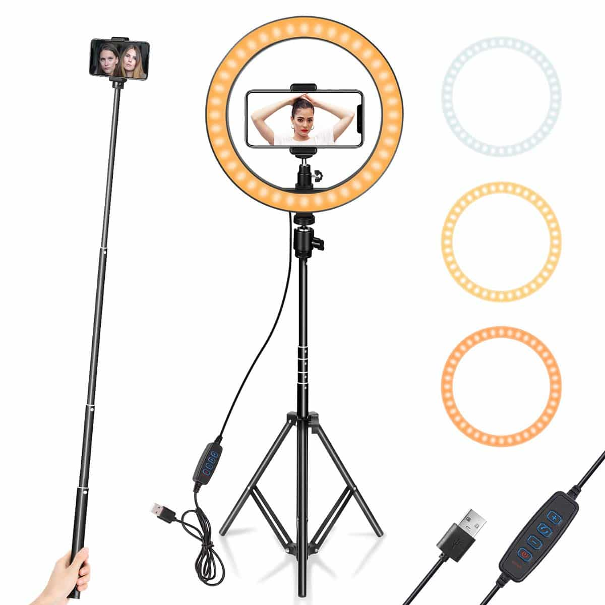 AIXPI Ring Light with Stand