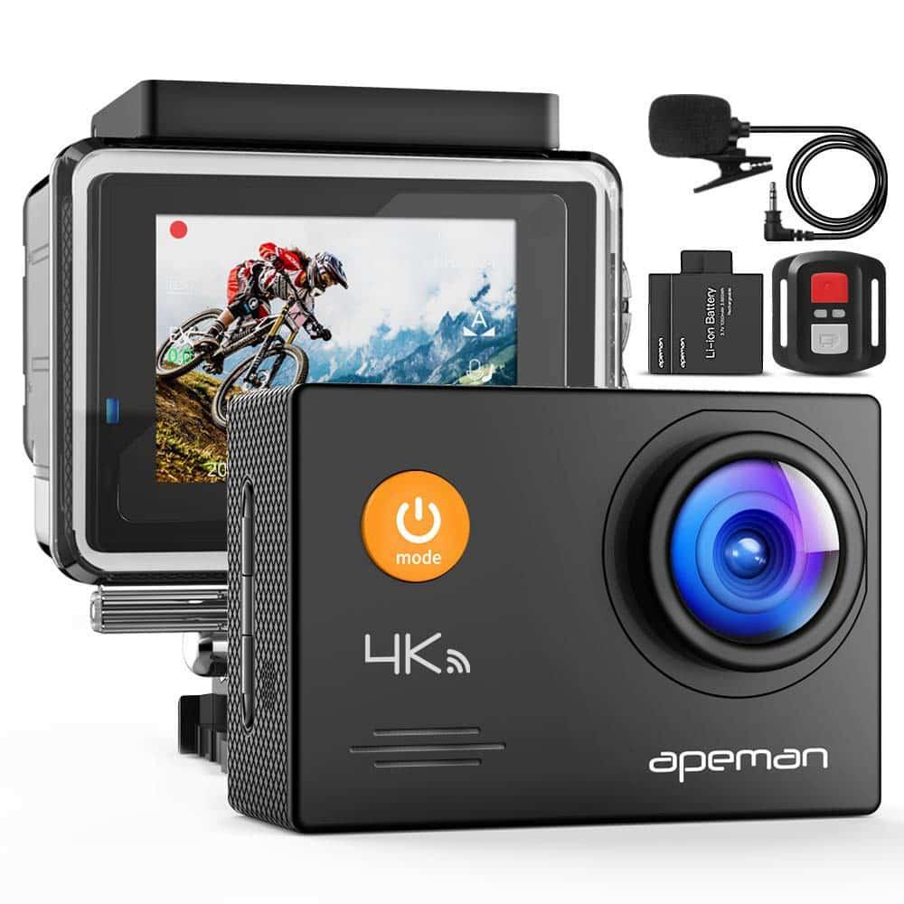 APEMAN A79 4K Action Camera 20MP