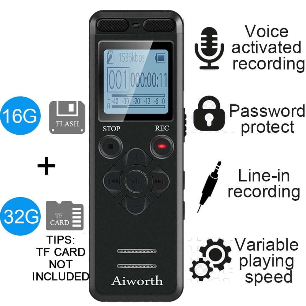 Aiworth Digital Voice Recorder