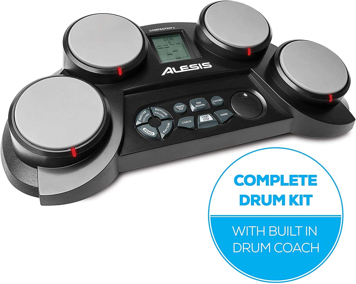 Alesis Portable Compact Kit 4-pad Electronic Drum Kit