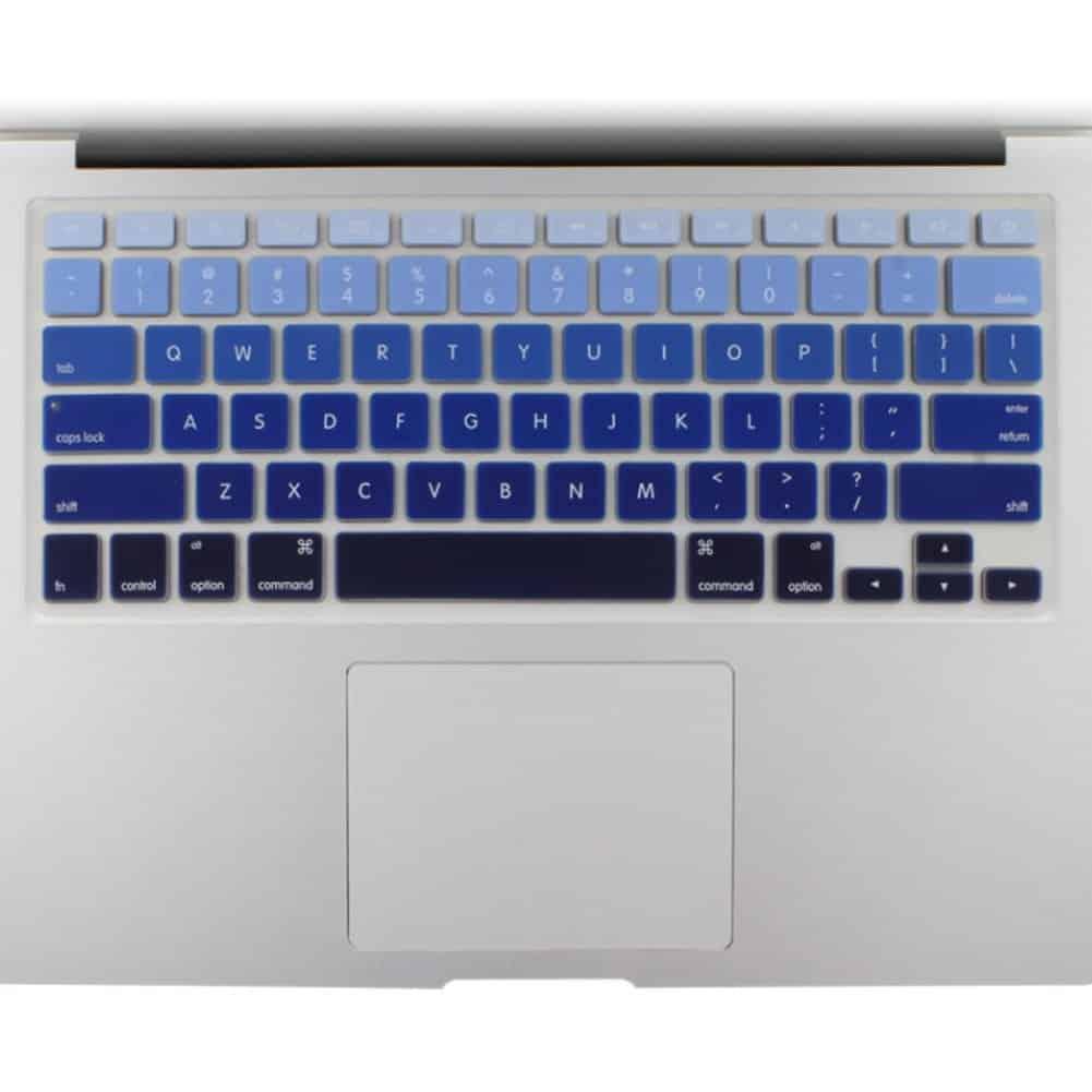 All-inside Blue Ombre Color Keyboard Skin for MacBook Pro