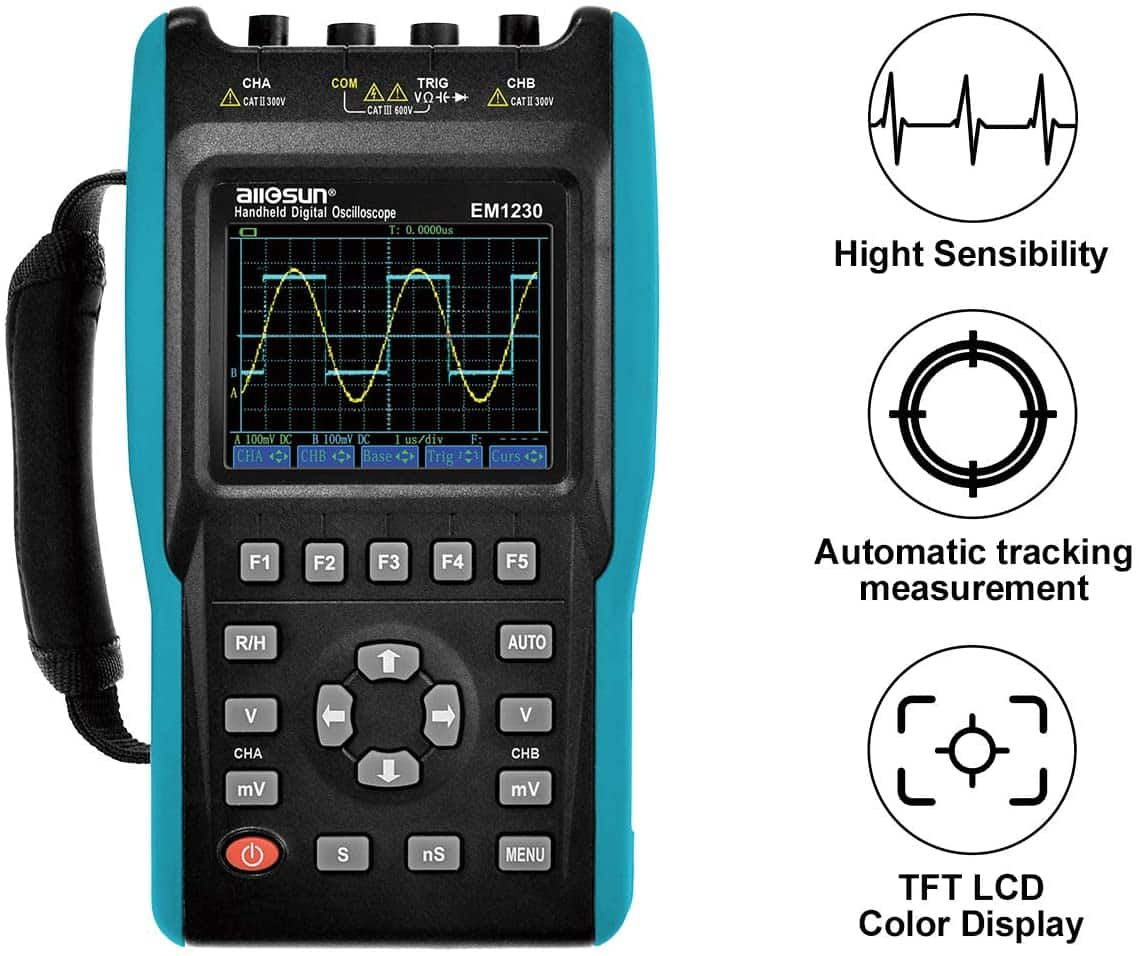 All-sun Handheld 2-in-1 Oscilloscope