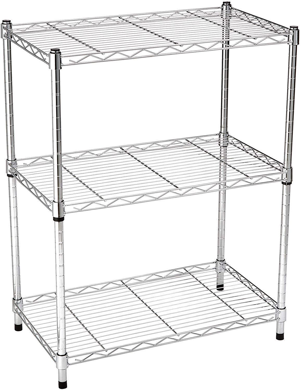 Amazon Basics Metal Organizer Rack Stand