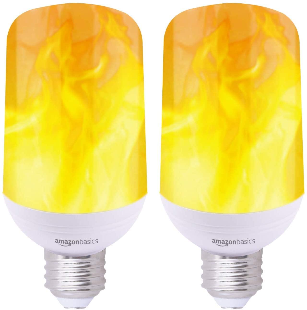 AmazonBasics LED Flame Light