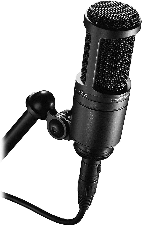 Audio-Technia AT2020 Cardioid Condenser Microphone