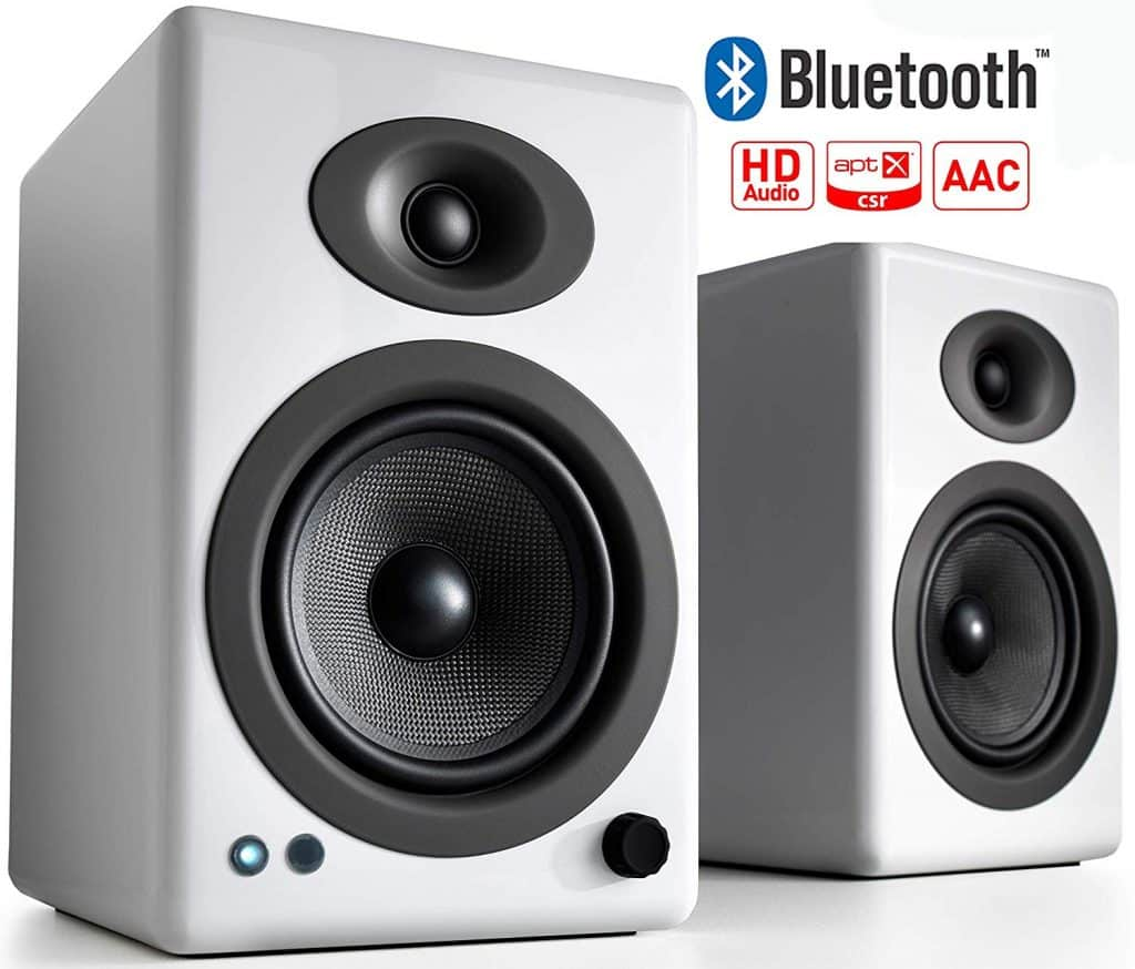 Audioengine A5+ Wireless Powered Bookshelf Speakers