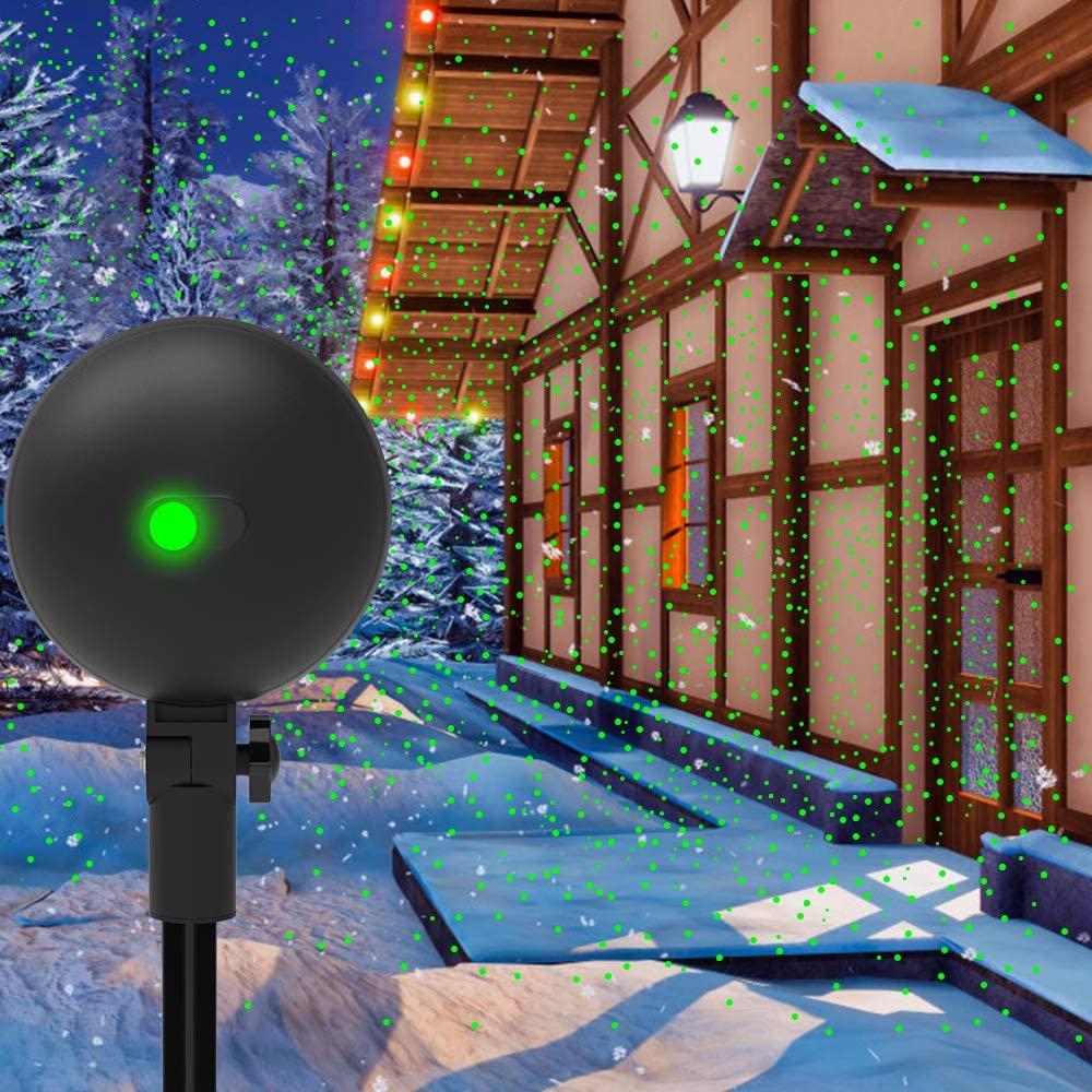 Auxiwa Laser Light Xmas Spotlight Projectors