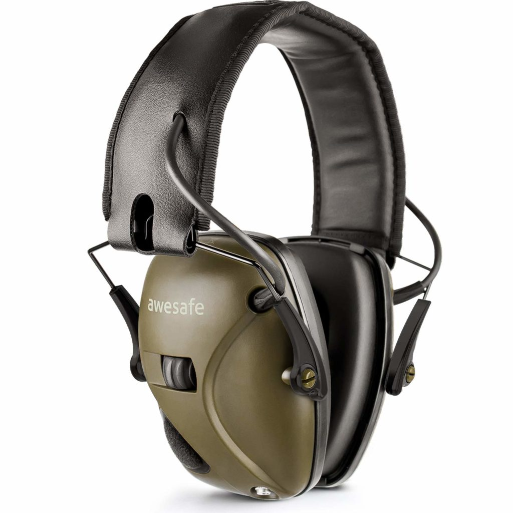 Awesafe Ear Protection for Shooting Range Electronic Hearing Protection