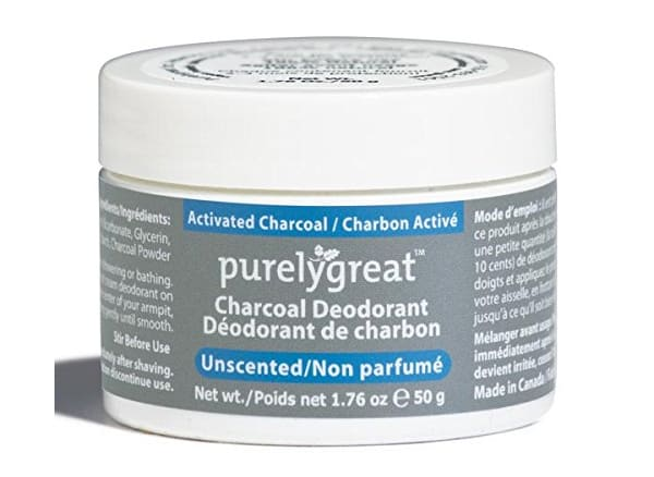 Purelygreat Unscented Charcoal Deodorant
