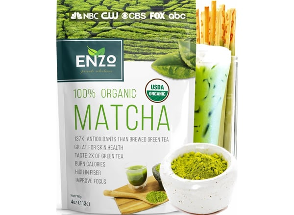 Enzo Matcha Green Tea Powder