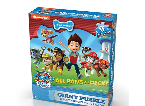 Paw patrol puzzle for the mystery solving kids
