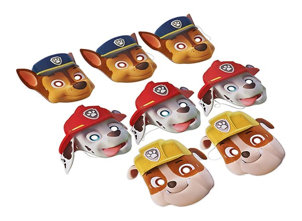 Paw patrol masks for effective role-playing:
