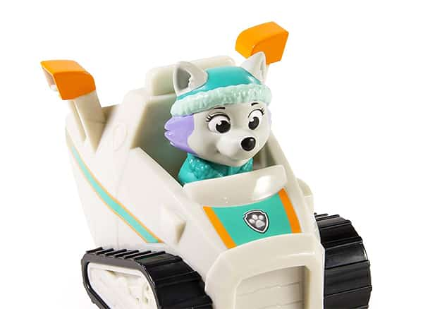 Snow rescue expert- Everest and his racer vehicle